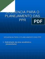 Sequencia Para o Planejamento Das Ppr