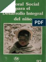 celam - pastoral social para el desarrollo del niño