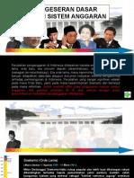 Kurun Sejarah Perubahan (Time Line) Sistem Penganggaran di Indonesia