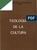 Celam - Teologia de La Cultura