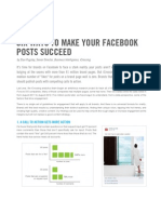 Six Ways to Make Your Facebook Posts Succeed - iCrossing