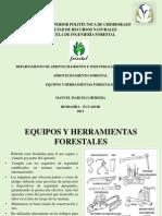 Maquinaria y Equipos en El Aprovechamiento Forestal