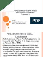Pengantar Psikologi Massa (II)