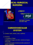 Med Surg Cardiovascular System