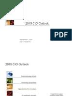 2015 CIO Outlook Presentation