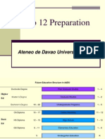 AdDU K to 12 Preparation