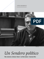 Entrevista a Alfredo Crespo (Revista Quehacer)