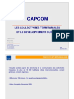 TMO Régions - Les Collectivités Territoriales Et Le développement Durable