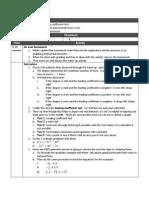 Pre-Calc Lesson 9