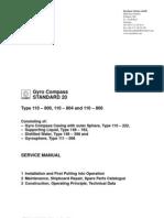 Gyro Compass Service Manual