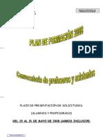 Formación Plan 080509