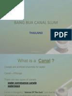 Bang Bua Canal Slum