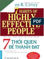 7 Thoi Quen de Thanh Dat - Smith.N Studio