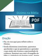 Dízimo na Bíblia slaides