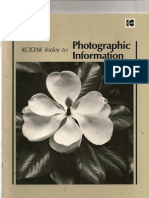 Kodak Index to Photographic Information