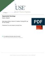 Alworth, Supermarket Sociology - New Literary History