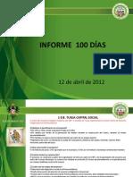 Informe 100 Dias Presentacion