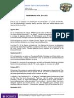 Memoria Distrital 11-12 Distrito 1 Zona 12 Scouts de Argentina