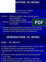 21 21 Introduction to Retail