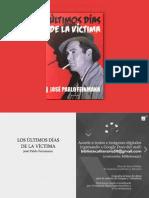 Últimos días de la víctima -José Pablo Feinmann (Digitalizado)