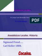 Nuevos Anestésicos Locales
