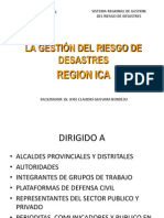Gestion Del Riesgo de Desastres Microsoft Office Powerpoint