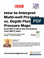 How to Interpret Multi-Well Pressure vs Depth Plots