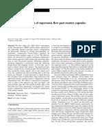 Numerical Simulation Capsule Vehicle