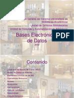 Bases Datos 2012