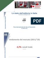AIE - Rapporto Sull'Editoria 2012