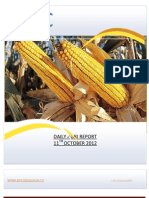 DAILY AGRI REPORT BY EPIC RESEARCH- 11 OCTOBER 2012