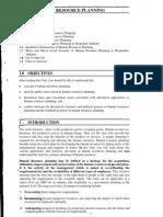 HR Planning Notes
