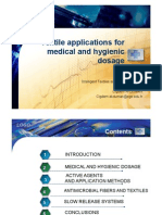 Textile Applications for Medical and Hygienic Dosage