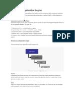 PeopleSoft Application Engine