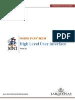 ModulPraktikum J2ME 02 High Level UI Unsecure