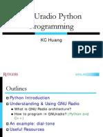 GNUradio Python Tutorial 20090609