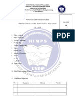 Formulir Open Recruitment