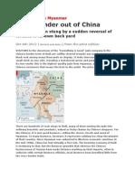 Sino Burma Relations