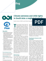 Climate extremes and child rights in South Asia