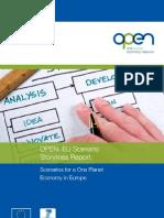 Scenarios Towards a One Planet Economy in Europe