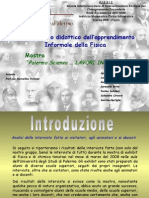 Presentazione Analisi Interviste PalermoScienza 2008