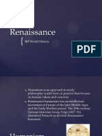 Renaissance and Scientific Revolution