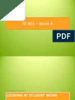 AZ TE 801-E Week 6