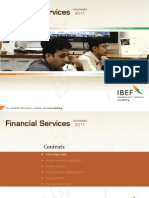 Indian Financial Services Industry outlook 2011