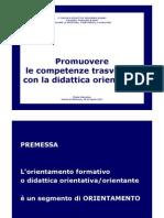 Presentazione Didattica orientativa