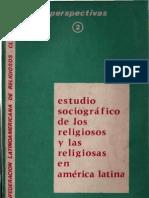 Clar - Estudio Sociografico de Los Religioos en a l