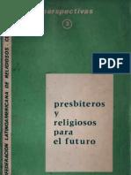 Clar - Presbiteros y Religiosos Para El Futuro