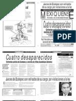 Versión impresa del periódico El mexiquense 11 de octubre 2012