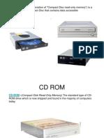 CD ROM Presentation