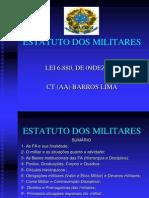 Estatuto Dos Militares